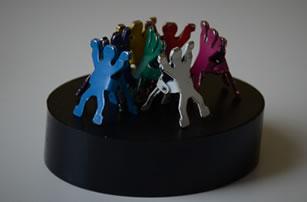 2D human figures